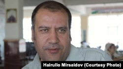 Tajik journalist Hairullo Mirsaidov