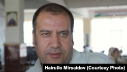 Tajik journalist Hairullo Mirsaidov (file photo)