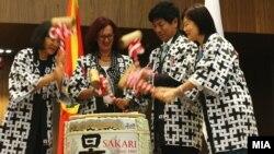 Официјално отворање на амбасадата на Јапонија во Македонија