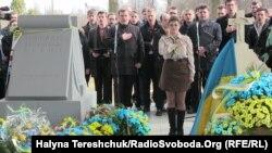 Ушанування автора українського гімну Михайла Вербицького, Польща, 4 березня 2017 року