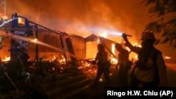 В Калифорнии сильнейшие за 85 лет пожары