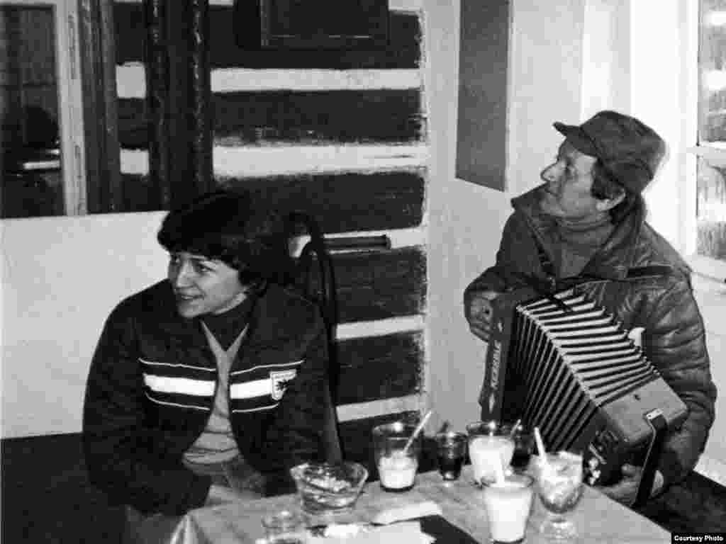 "Jiri and Jana at a cottage in Pec pod Snezkou in 1987 - Since 1989, Jana says, the Velvet Revolution is little more than ""a nice memory."""