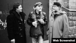 De la stînga la dreapta: Louis Sclavis, Aldo Romano Henri Texier,