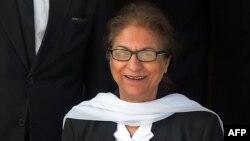 Asma Jahangir in 2015
