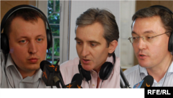 Grigore Petrenco, Iurie Leanca, Igor Corman, Jul2009