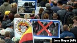 یکی از اجتماعات هواداران پگیدا در درسدن آلمان در مهرماه ۹۵
