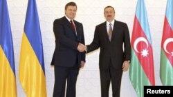 Ուկրաինայի և Ադրբեջանի նախագահների հանդիպումը Բաքվում, արխիվ