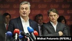 Zlatko Lagumdžija i Željko Komšić