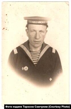 Вийшовши на свободу Анатолій Вознюк потрапив на флот