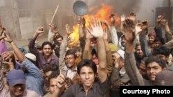 Християни Лагора протестують після погрому