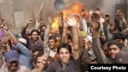 Lahore: Mijëra të krishterë kanë protestuar të dielën, duke kërkuar mbrojtje më të mirë nga qeveria.