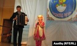 Ильнара Гәрәева, баянда Фирдәвес Мортазин