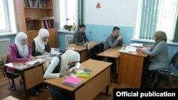 O şcoală privată în Kazan, Tatarstan