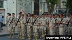 Репетиция парада в Севастополе