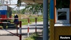 Пропускной пункт на украинско-российской границе