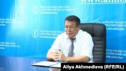 Болатбек Закиев, председатель комиссии по судебной этике Алматинского областного суда.
