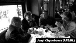 Встреча писателей из Центральной Азии в Париже
