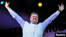 Петро Порошенко під час виборчої кампанії, 20 травня 2014 року