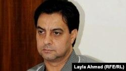 اللاعب السابق أحمد راضي