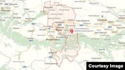 map ingushetia