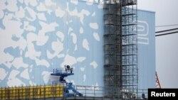 Pogled na drugi reaktor Fukušime, fotoarhiv