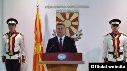 Македонскиот претседател Ѓорѓе Иванов ја најавува кандидатурата за нов претседателски мандат на престојните избори.