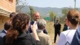 Спустя девять дней после возобновления в селе Гугутианткари процесса бордеризации сюда прибыли аккредитованные в Грузии дипломаты