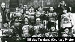 Хоккейная команда Николая Ташкеева