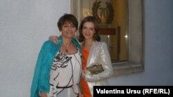 Alexandra Pitlik-Zakon cu fiica sa