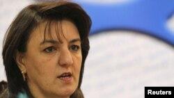 وزيرة حقوق الإنسان العراقية وجدان ميخائيل