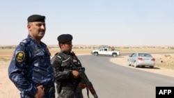 Иракские военные у границы Ирака с Сирией. Иллюстративное фото.