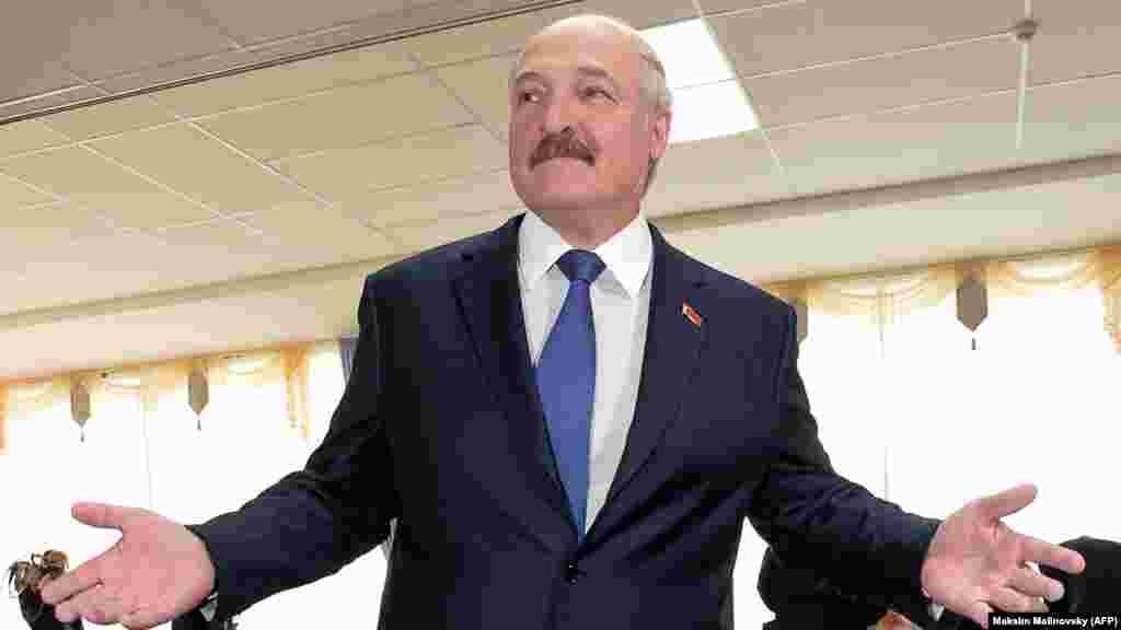 Бессменный пока президент Беларуси Александр Лукашенко