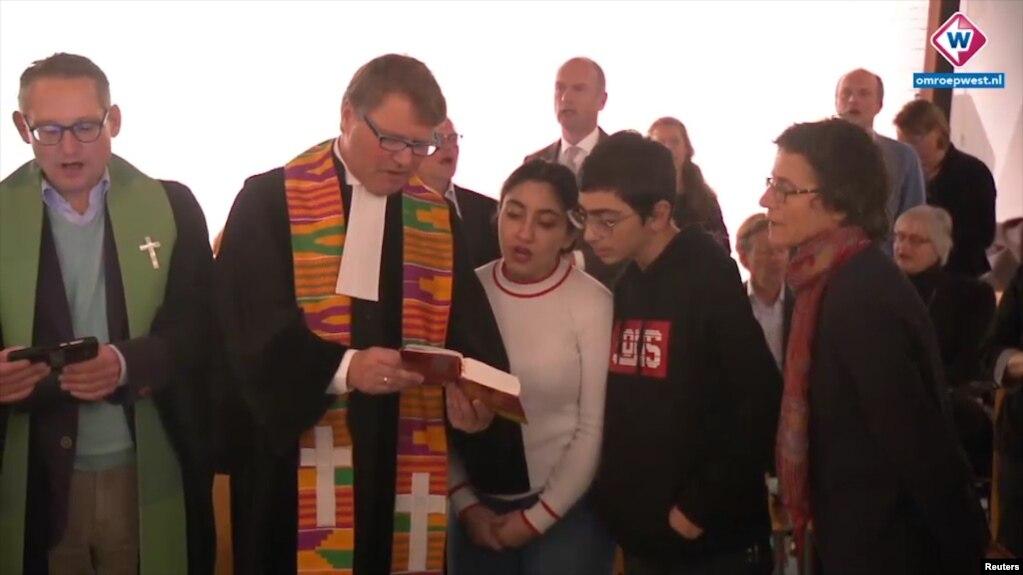 В протестантской церкви в Гааге, где укрылась армянская семья, ждут рождественского чуда