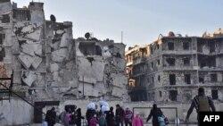 Восточная часть Алеппо