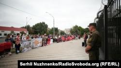 Пікет посольства Росії в Україні 16 червня 2018 року