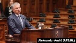 რუსეთის სახელმწიფო დუმის სპიკერი ვიაჩესლავ ვოლოდინი