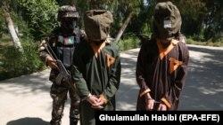 آرشیف، دو فرد بازداشت شده در ولایت ننگرهار