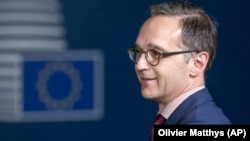 Germaniýanyň daşary işler ministri Heiko Maas