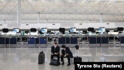 Aeroporul internațional din Hong Kong.