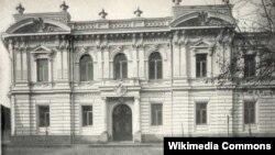 კონსერვატორიის შენობა XX საუკუნის დასაწყისში