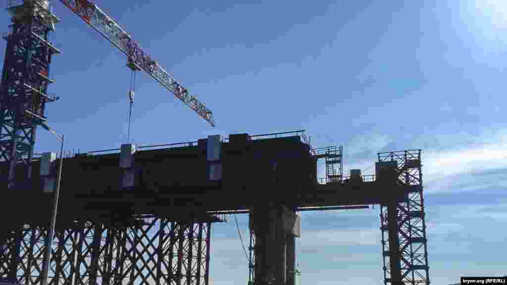 Сроки госконтракта на выполнение работ, связанных с обеспечением транспортной безопасности строящегося Керченского моста российское правительствосдвинулона 1 декабря 2019 года.