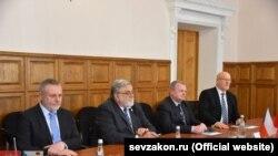 Чешские политики на встрече с российскими депутатами Севастополя