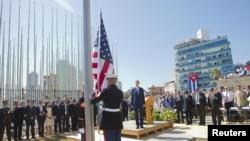 Открытие посольства США в Гаване, 14 августа 2015 года
