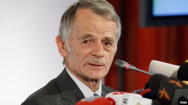 Лідер кримськотатарського народу Мустафа Джемілєв