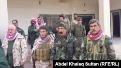 مقاتلون أيزيديون من سنجار