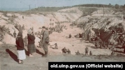 آرشیف، محل قتل عام یهودیان در اوکراین