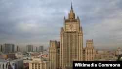 Орусиянын Тышкы иштер министрлигинин имараты.