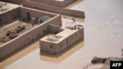 Наводнение в провинции Джаузджан. 25 апреля 2014 года.