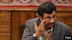 Iranian President Ahmadinejad appears unimpressed by U.S. concessions -- or Shi'ite support.