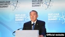Қазақстан президенті Нұрсұлтан Назарбаев. Вашингтон, 1 сәуір 2016 жыл.